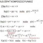 Pengertian dan Fungsi Komposisi