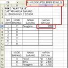 Fungsi Vlookup dan Hlookup Pada Excel