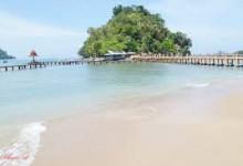 Lokasi dan Keindahan Pantai  Carocok Painan