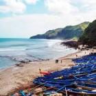 Lokasi dan Keindahan Pantai  Meganti Kebumen